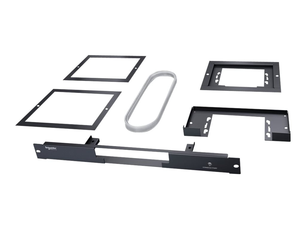 APC Mounting Kit 1U Duct for Active Flow Controller, ACAC22001, 16003599, Rack Cooling Systems