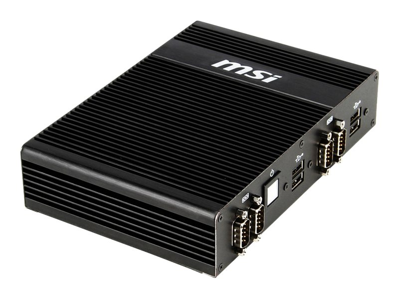 MSI Barebones, MS-9A29 Small IPC Low Power Atom D2550 Max.4GB GMA3650 2xGbE NoOS, MS-9A29, 18240838, Barebones Systems