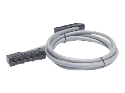 APC Cat5e RJ-45 x6 to RJ-45x6 UTP CMR Cable, Gray, 21ft