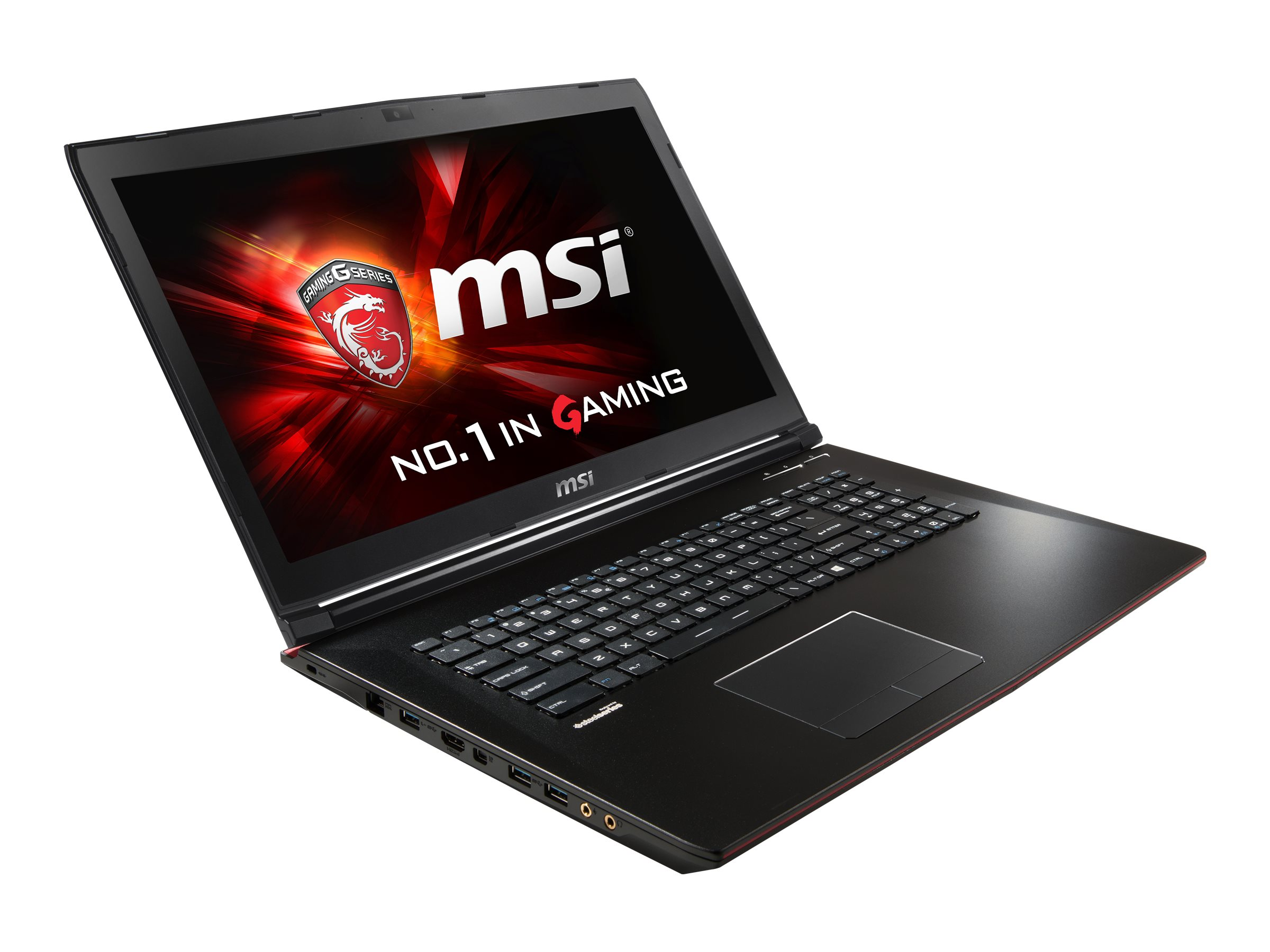 MSI GP72 Leopard Pro Core i7-6700HQ 2.6GHz 16GB 1TB+128GB SSD DVD SM ac BT WC 960M 17.3 FHD W10