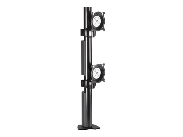 Chief Manufacturing Dual Vertical Desk Clamp Mount