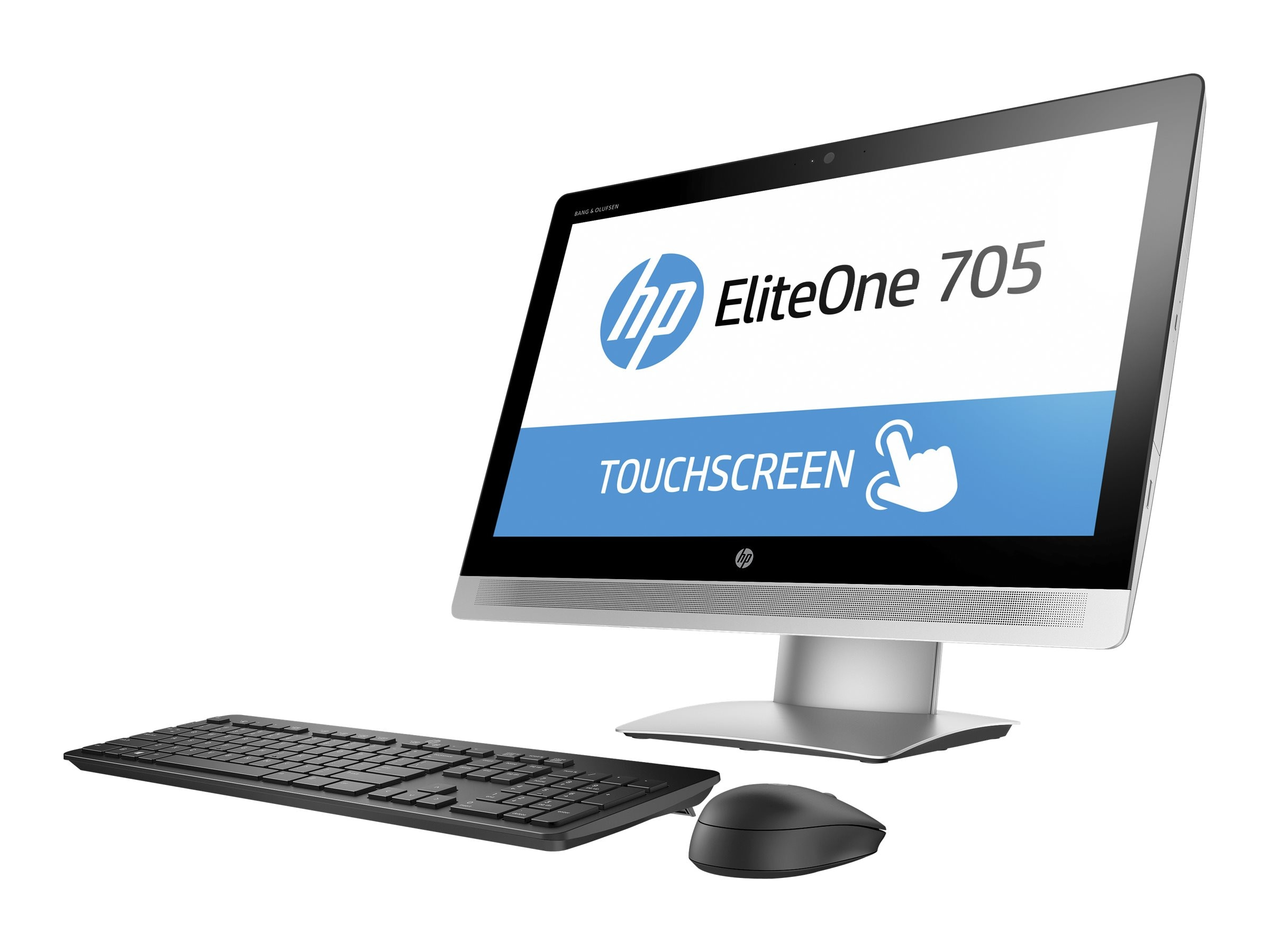 HP EliteOne 705 G2 AIO Pro A4-8350B 3.5GHz 4GB 500GB DVD-RW ac BT FR WC 23 HD MT W7P64-10P, P5U96UT#ABA, 30722645, Desktops - All-in-One