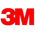 3M Reclosable Fastener, Clear with White Adhesive, 5yds