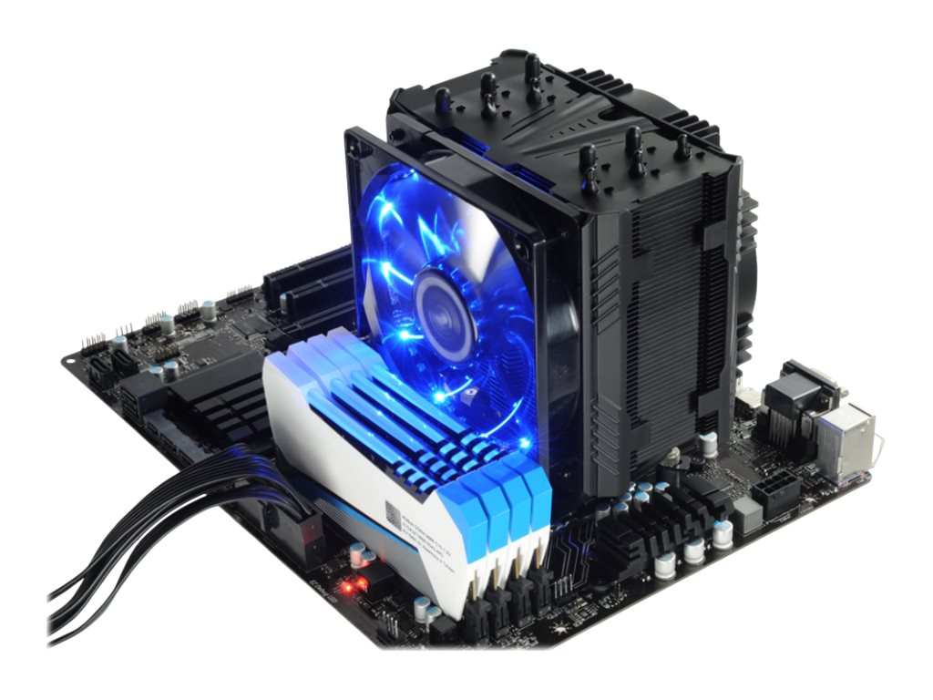 Enermax ETS-T50 AXE High Performance Side Flow CPU Cooler Fan, Black