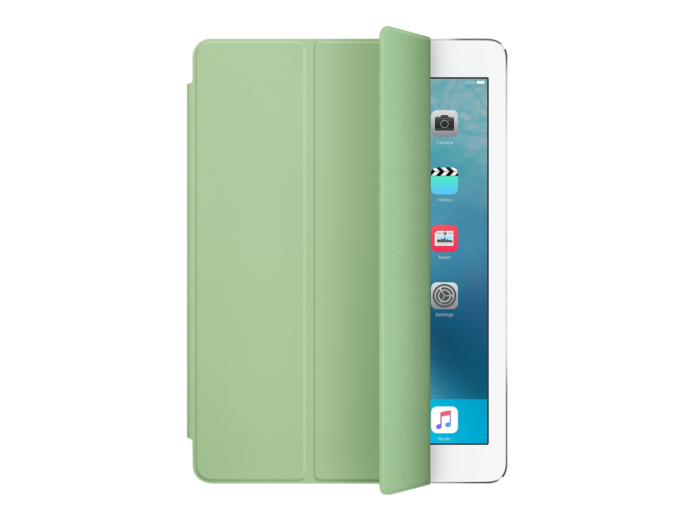 Apple Smart Cover for iPad Pro 9.7, Mint, MMG62AM/A, 31812319, Carrying Cases - Tablets & eReaders