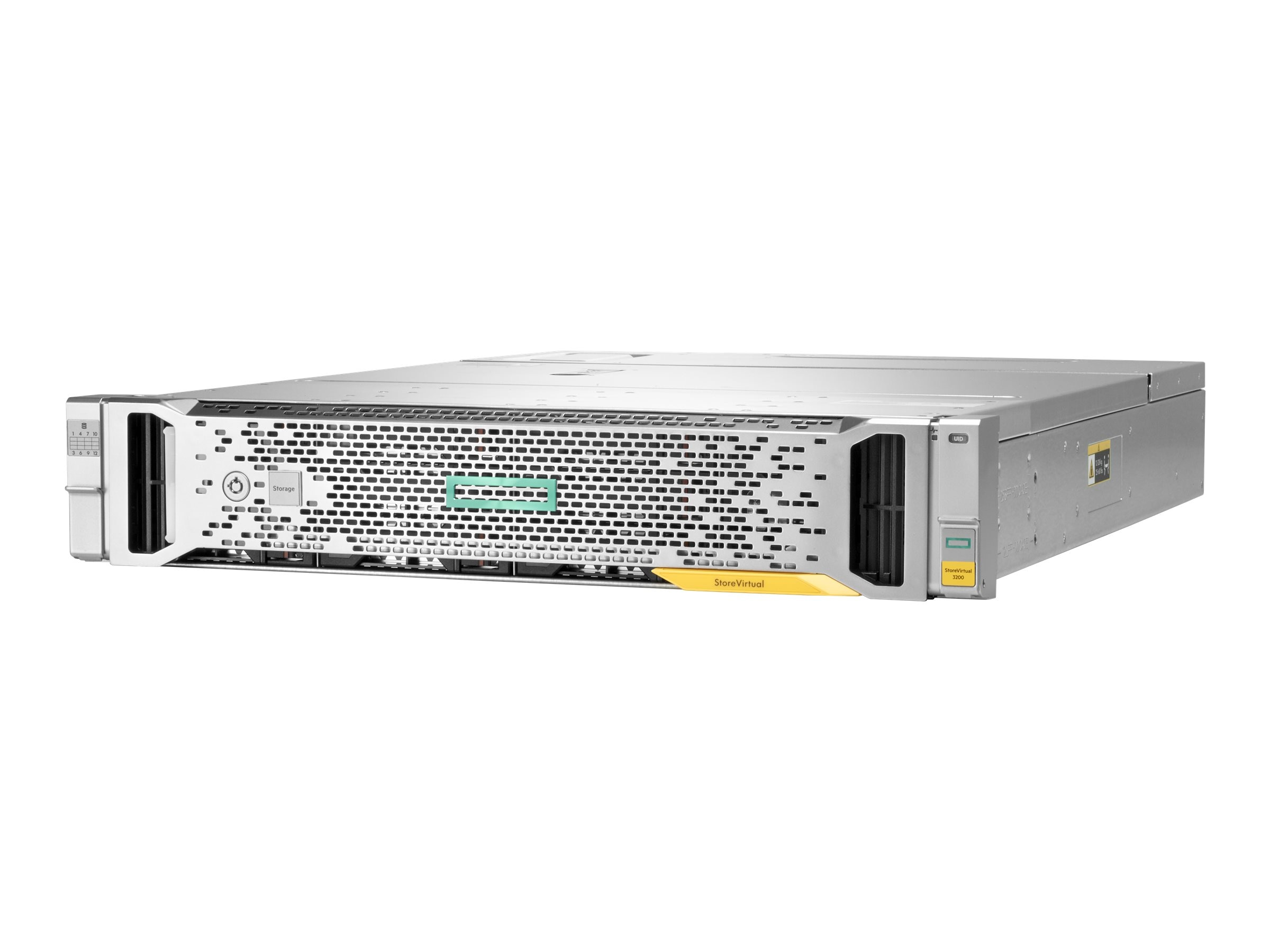 HPE StoreVirtual 3200 4-port 16Gb FC LFF Storage