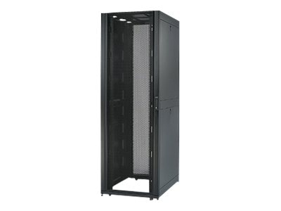 APC NetShelter SX 42U 750mm Wide x 1070mm Deep Enclosure with Sides, 1250 lbs. Shock Packaging, Black, AR3150SP1, 7830841, Racks & Cabinets