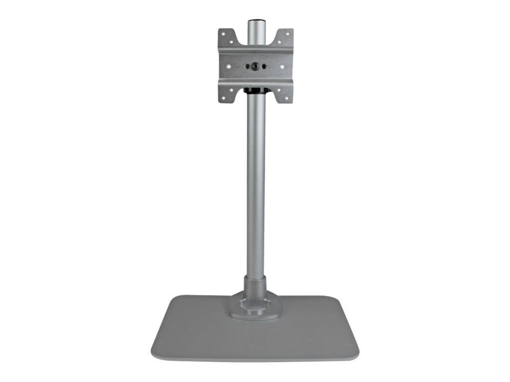 StarTech.com Desktop Monitor Stand with Cable Hook, Silver