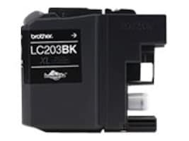 Brother Black LC203BK High Yield Ink Cartridge, LC203BK, 17539504, Ink Cartridges & Ink Refill Kits