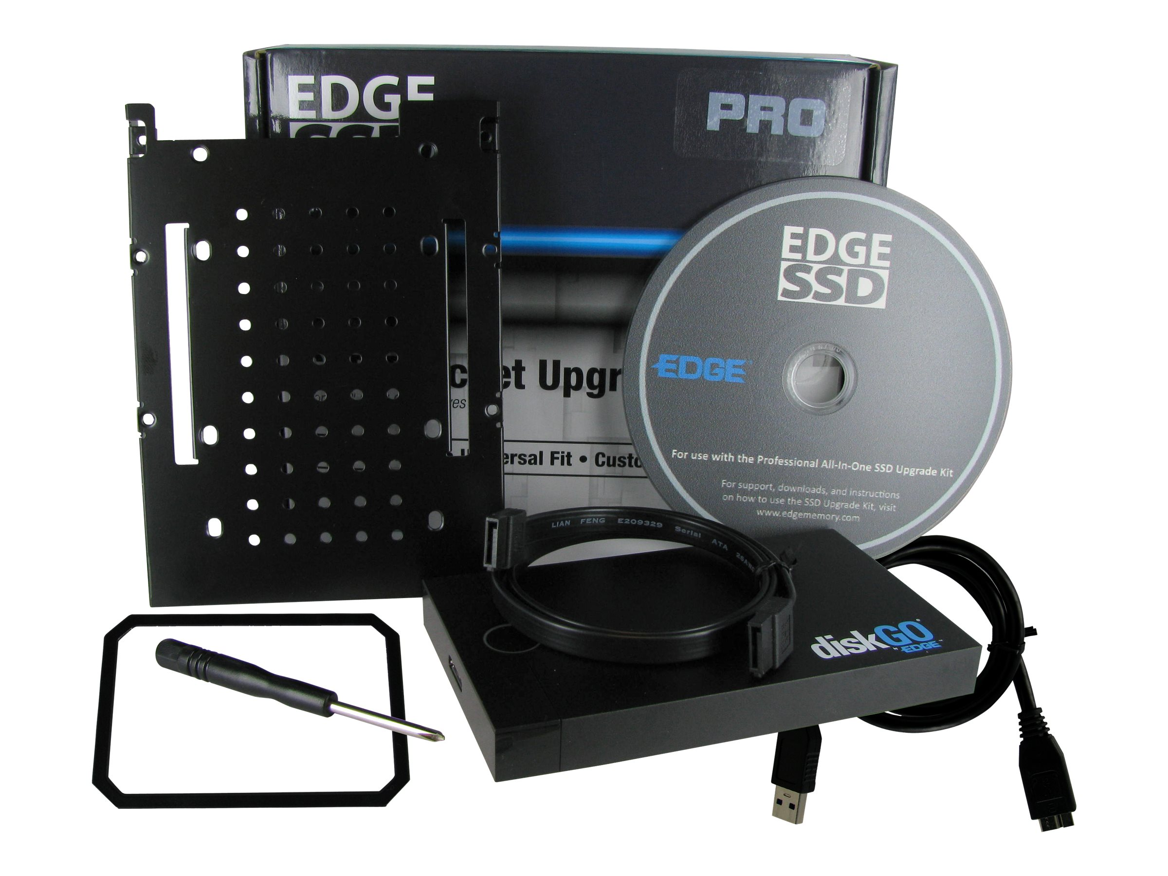 Edge Professional All-In-One Solid State Drive Upgrade Kit, PE247379