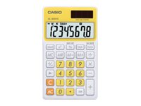 Casio Extra Large Display Time and Tax Calculator, Yellow, SL-300VC-YW, 11771142, Calculators