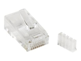 StarTech.com Cat6 Modular Plug for Solid Wire, 50-Pack, CRJ45C6SOL50, 12296224, Cable Accessories