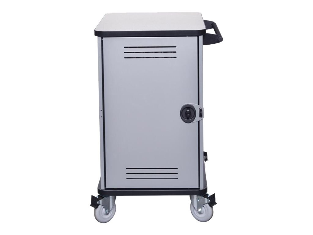 Spectrum Industries Pro32 Notebook Cart with 4 Balloon Wheels, 55462-AAB