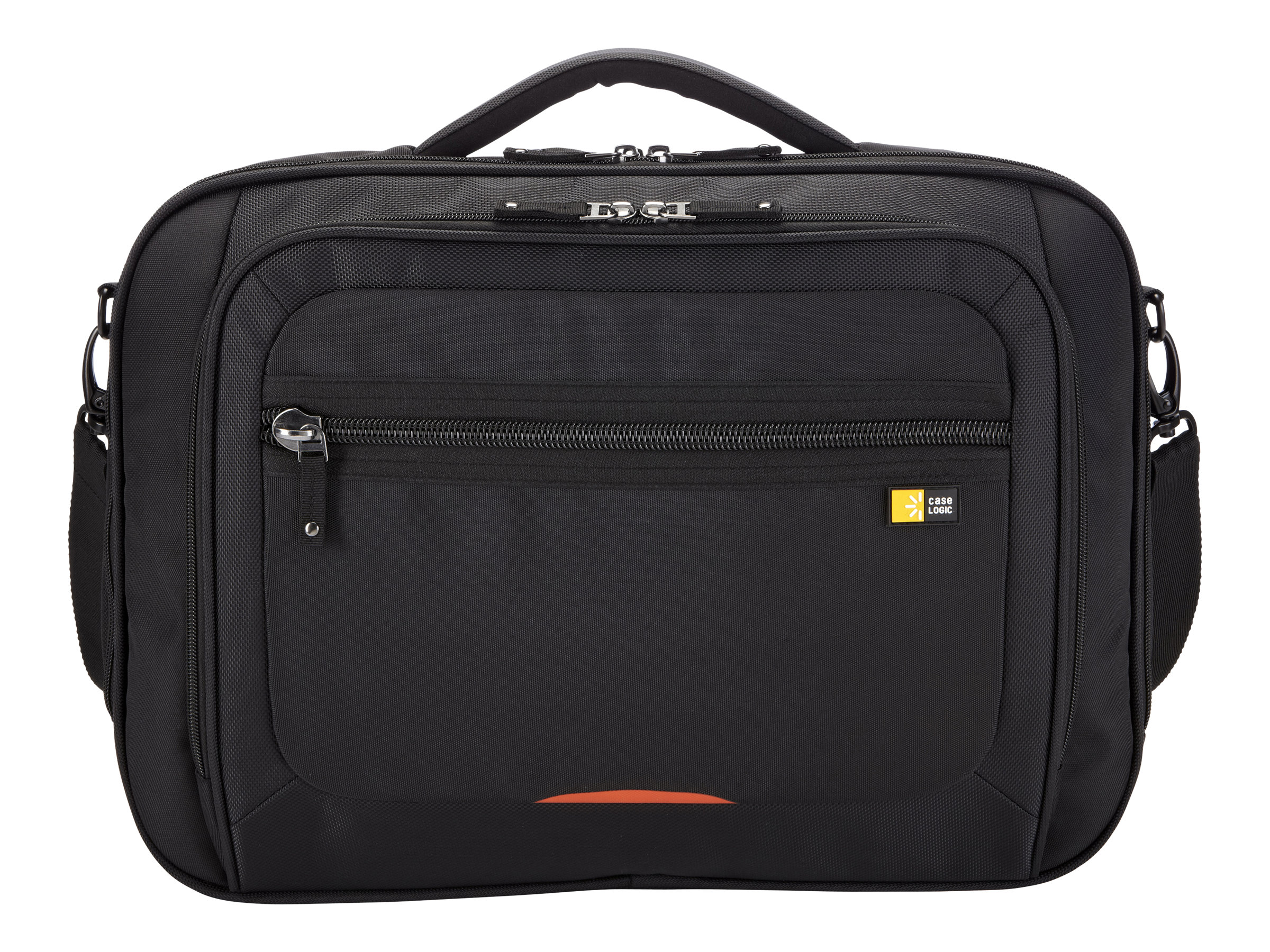 Case Logic 16 Laptop Briefcase, ZLC-216BLACK, 13919690, Carrying Cases - Notebook
