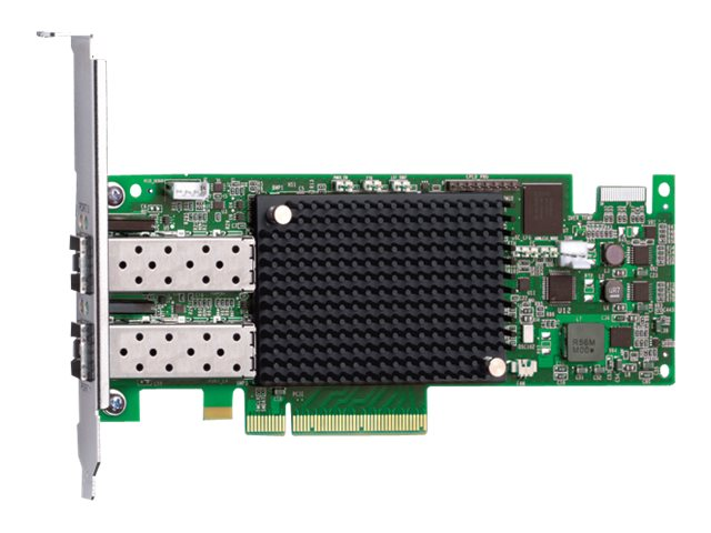 Emulex Dual-port 16Gb PCIe3.0 Fibre Channel Host Bus Adapter