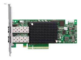 Emulex Dual-port 16Gb PCIe3.0 Fibre Channel Host Bus Adapter, LPE16002B-E, 15756396, Host Bus Adapters (HBAs)