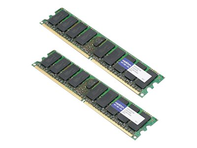 ACP-EP 4GB PC2-5300 240-pin DDR2 SDRAM DIMM Kit for Select ProLiant Models, 397413-B21-AM