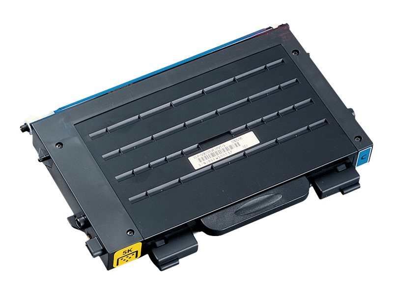 Samsung Cyan Toner Cartridge for Samsung CLP-510 Series Printers, CLP-510D2C, 5768861, Toner and Imaging Components
