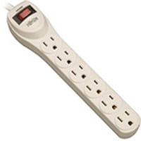 Tripp Lite Power Strip 120V 50 60Hz (6) Outlets 4ft Cord, PS6, 405024, Power Strips