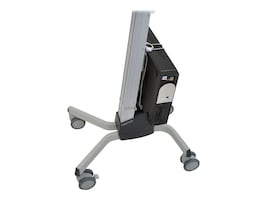 Ergotron Universal Computer CPU Holder, 80-105-064, 12133530, Cart & Wall Station Accessories