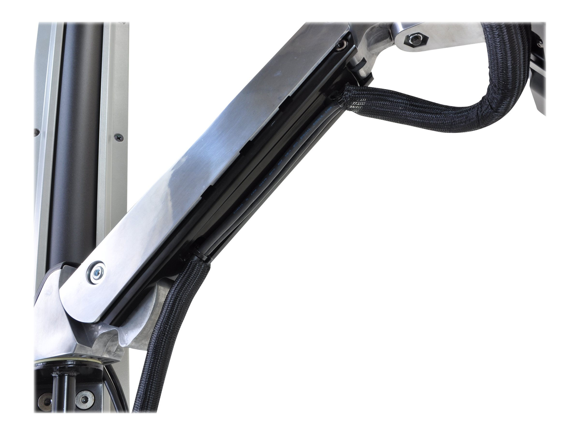 Ergotron Styleview Sit Stand Combo Arm Extender, 45-261-026, 13164389, Mounting Hardware - Miscellaneous