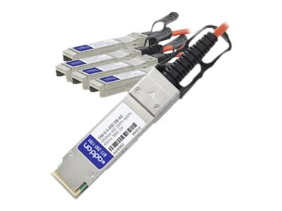 ACP-EP QSFP+ TO 4XSFP+ Fiber 5M Compatible DAC TAA 40GBASE AOC 5M Transceiver for Arista