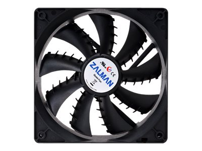 Zalman ZM-PLUS 92mm Ultra Quiet Fan SF Version, Black, ZMF2 PLUSSF