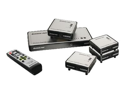 IOGEAR Long Range Wireless 5x2 HD Matrix Pro with (3) Additional Receivers