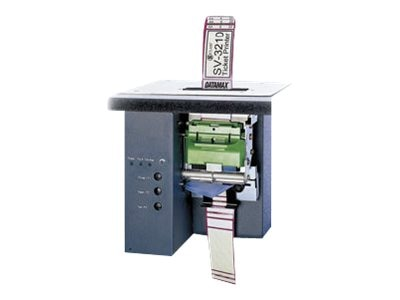 Datamax-O'Neil SV-3210 Thermal 203dpi USB 6MB Flash Barcode Label Printer w  Vertical Mount, Q92-00-08000000, 15070407, Printers - Bar Code