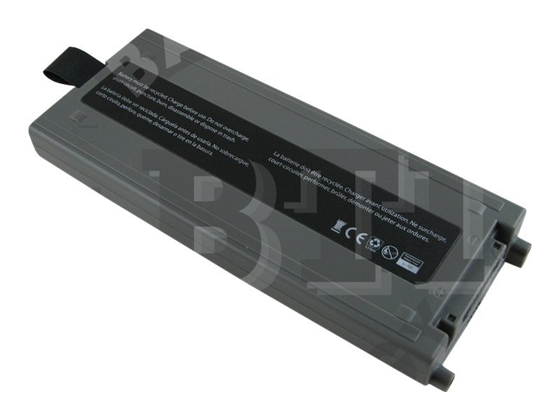 BTI Battery, Li-Ion 11.1V 5200mAh 6-cell for Toughbook 19 Series