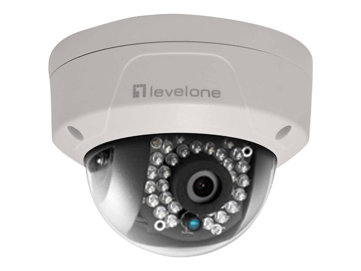 CP Technologies 4MP Fixed Vandalproof Dome Network Camera with 4mm Lens