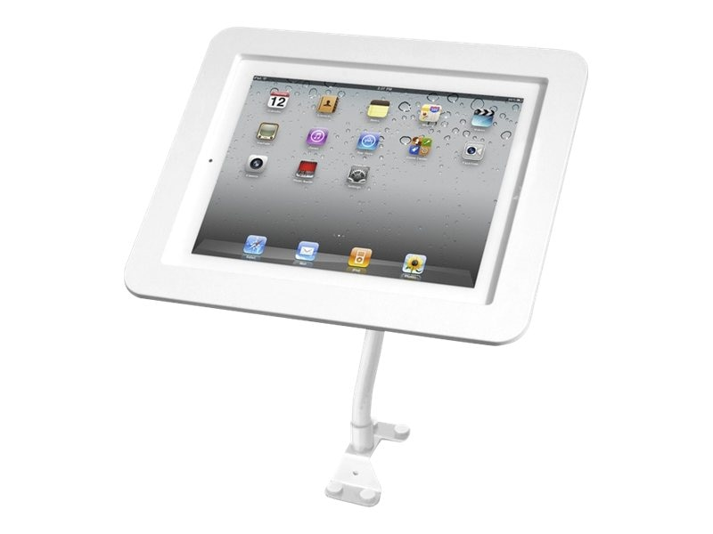 Compulocks Executive Flex Arm iPad 1 2 3 4, White, 159W213EXENW