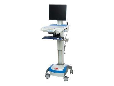 Rubbermaid M38 Cart with Electronic Lift, AC, 55-Amp SLA, 1806454, 13064521, Computer Carts