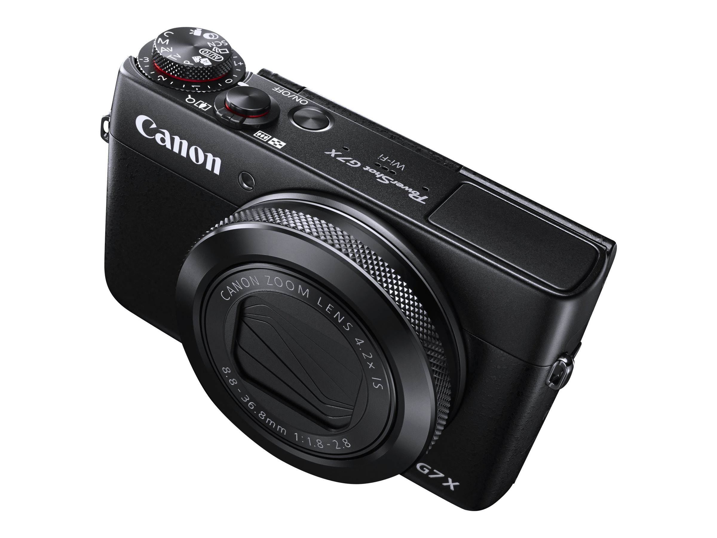 Canon PowerShot G7 X Digital Camera, 20.2MP, Black