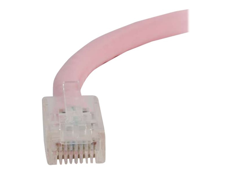 C2G Cat5e Non-Booted Unshielded (UTP) Network Patch Cable - Pink, 5ft