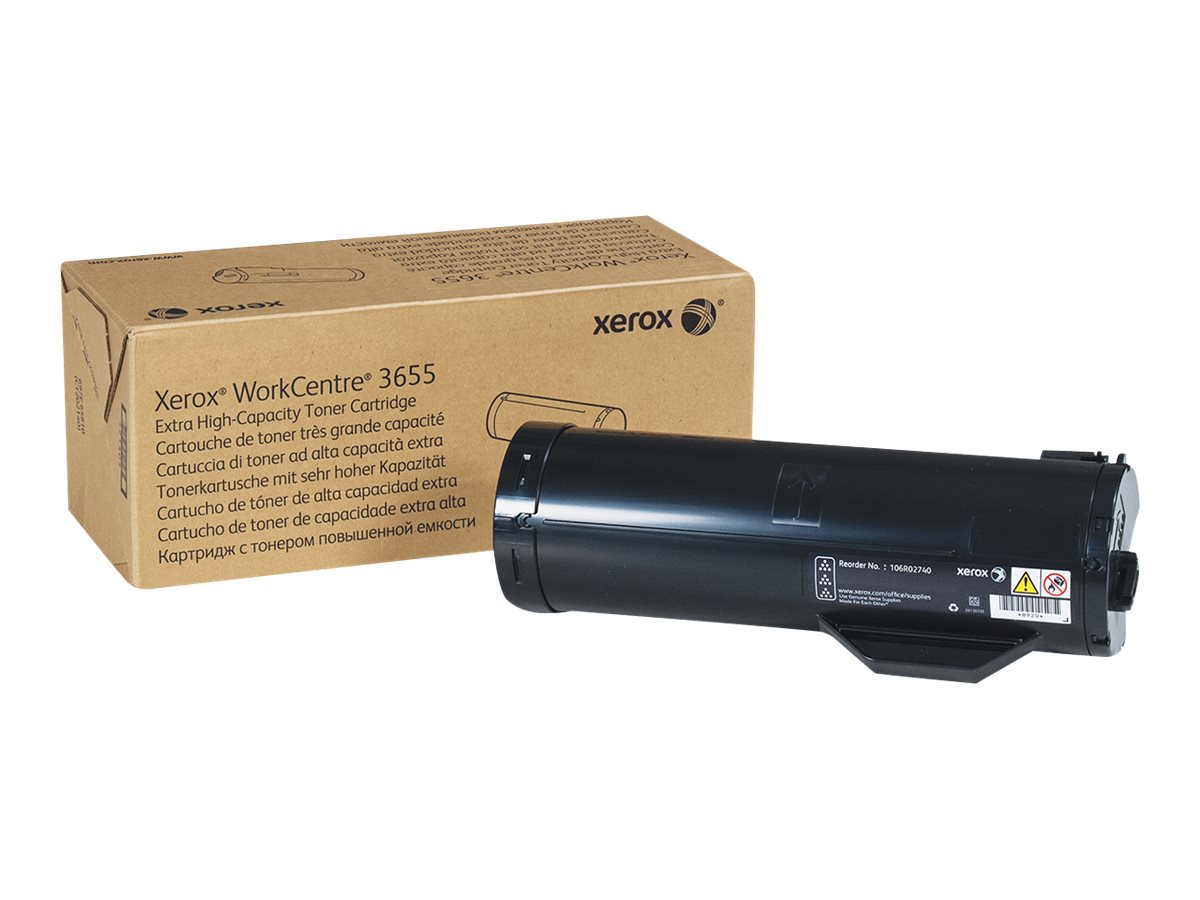 Xerox Black Extra High Capacity Toner Cartridge for WorkCentre 3655