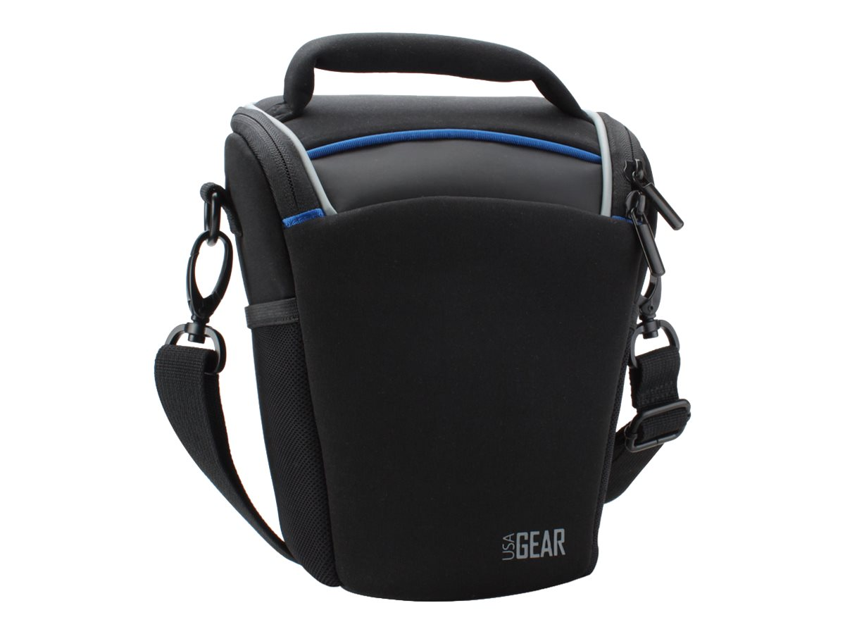 Accessory Genie Top Loading Camera Bag for SLR, GRQLQTL100BKEW, 17349621, Carrying Cases - Camera/Camcorder