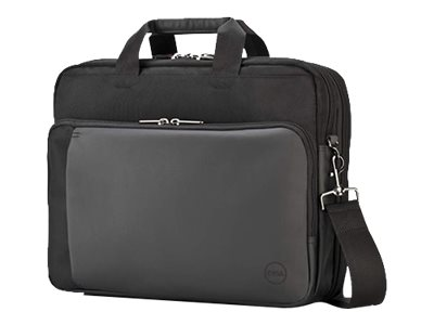 Dell Premier Fabric Briefcase 15.6, Black, 826MN