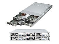 Supermicro Barebones, Dual Six-core Opteron 2000 Series Support, 64GB Max, 1200W RPSU, Black, AS-2021TM-BTRF, 10099981, Barebones Systems