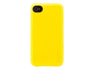 Griffin Protector Case for iPhone 4, Yellow, GB02571, 13337067, Carrying Cases - Phones/PDAs