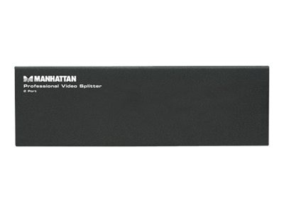 Manhattan Professional Video Splitter, 2-Port, VGA, SVGA, MultiSync, 207331