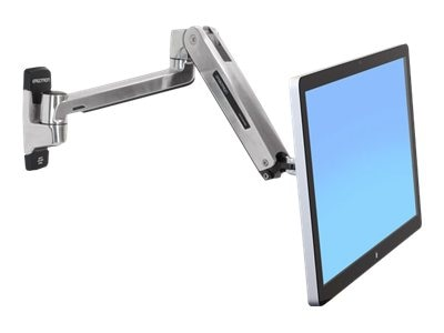 Ergotron LX HD Sit-Stand Wall Mount LCD Arm, 45-383-026