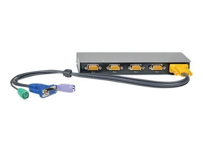Tripp Lite 4-port Desktop KVM Switch (PS 2), B022-004-R