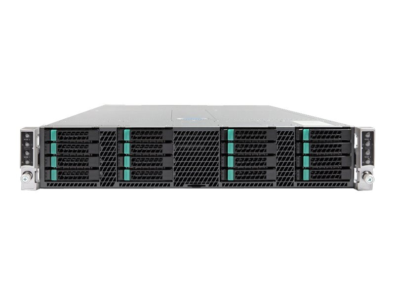 Intel Chassis, Server H2216XXKR2 2U RM 16x2.5 HS Bays 2x1600W, H2216XXKR2, 18020747, Cases - Systems/Servers