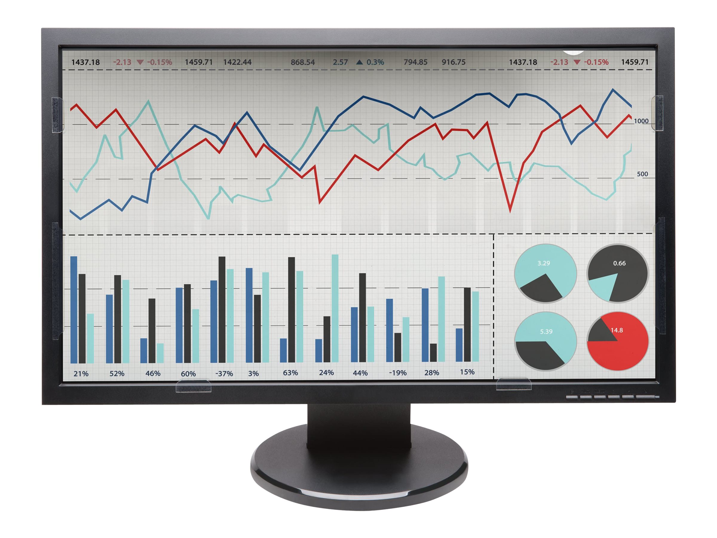 "Kensington FP230 Privacy Screen for 23"" 16:9 Widescreen Monitors, K55798WW"