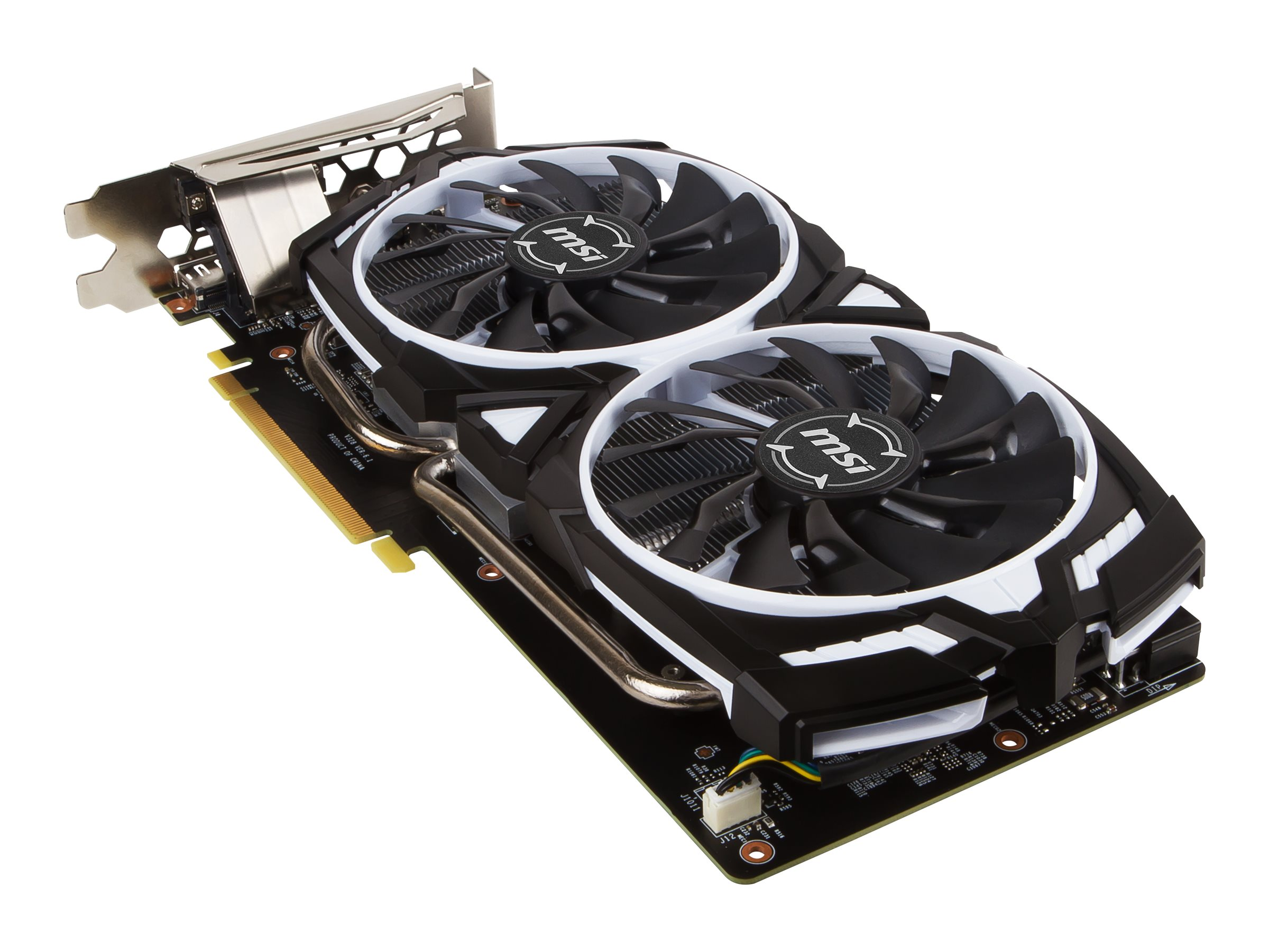 Microstar GeForce GTX 1060 Armor PCIe 3.0 x16 Overclocked Graphics Card, 6GB GDDR5