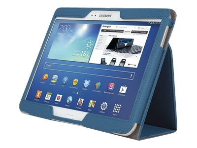 Kensington Comercio Soft Folio Case & Stand for Galaxy Tab 3 10.1, Blue, K97114WW