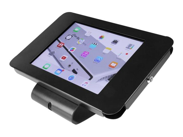 StarTech.com Lockable Tablet Stand for iPad, Desk or Wall Mountable, Steel, SECTBLTPOS
