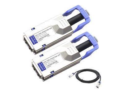 ACP-EP 10GBase-CU CX4 to CX4 Direct Attach Passive Twinax Cable, 5m, MSA TAA, CX4-10G-PDAC5M-AO