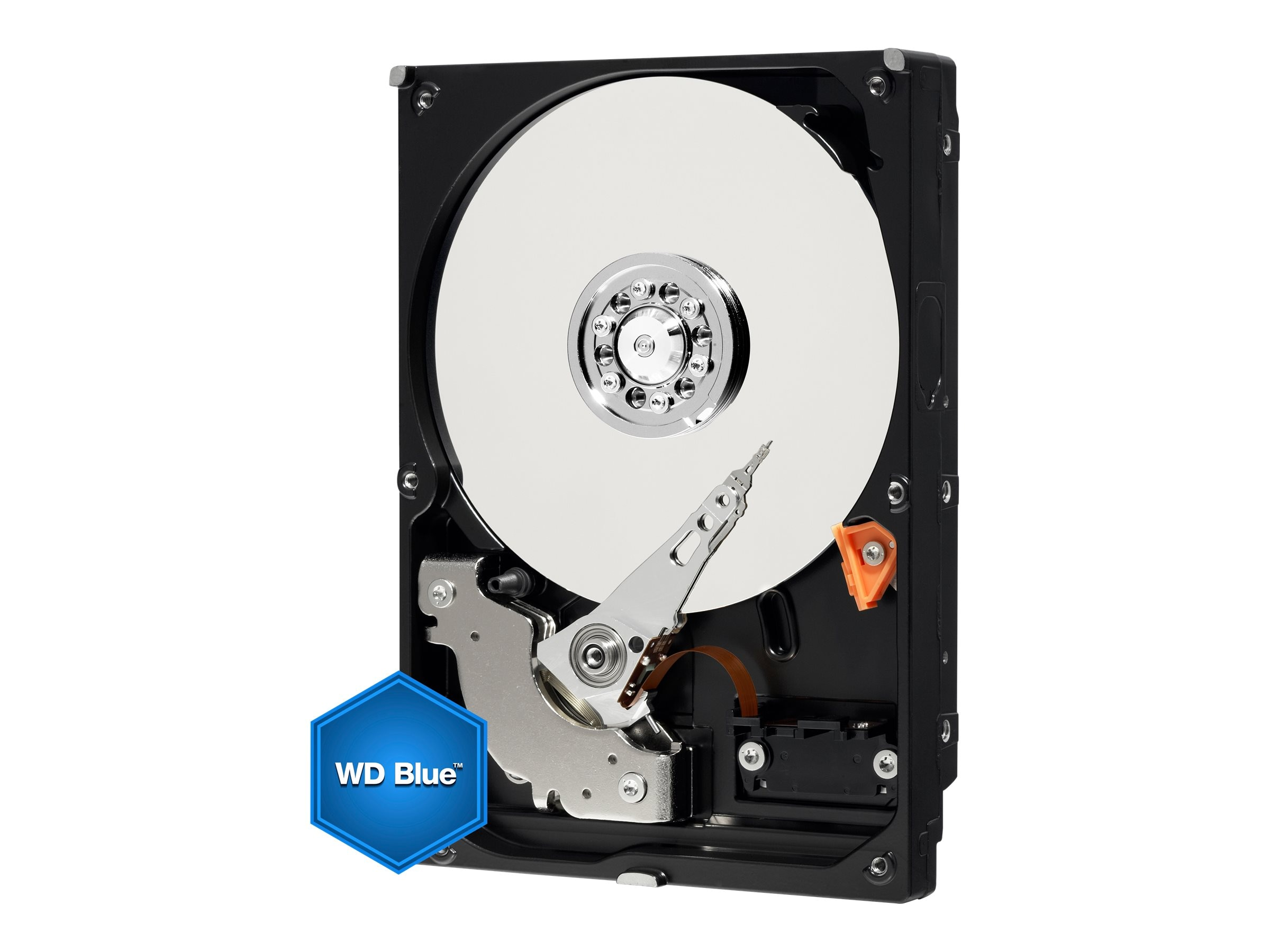 WD 500GB WD Blue SATA 6Gb s 7.2K RPM 3.5 Internal Hard Drive - 32MB Cache, WD5000AZLX